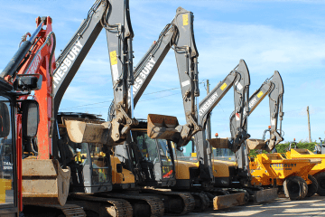 Mini, Midi and Large Excavator Digger Hire