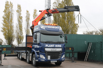 Hiab Container Transport Lorry Hire Cambridgeshire