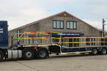 Low Loader Trailer Hire