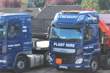 Road Haulage Container Transport Contractor Services Cambridgeshire