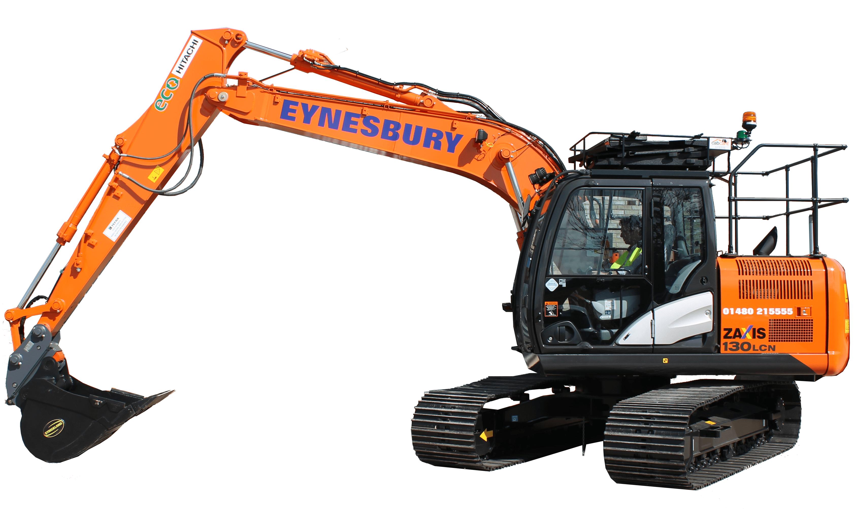 hitatchi-14-ton-excavator
