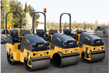 Bomag 80 & 120 Rollers for Hire