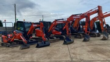 Plant Hire Equipment for Domestic and Professional Construction Work in Cambridgeshire, Bedfordshire and Hertfordshire
