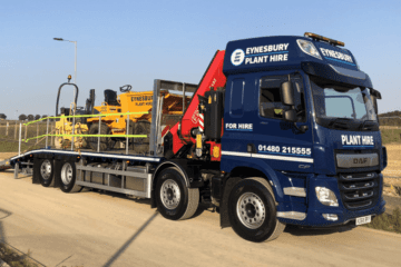 Rigid Beavertail Plant Lorries Hire