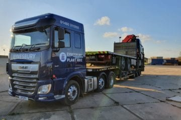 Road Haulage Low Loader Container Contractor Cambridgeshire