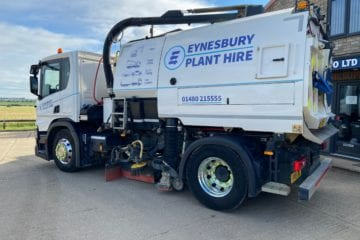 Lorry Mounted Road Sweeper Solutions Cambridgeshire